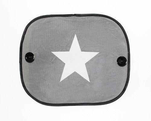 Auto-Sonnenschutz - Sonnenschutz fürs Auto, Motiv Stern - ein Designerstück von SabinesRheinKiesel bei DaWanda