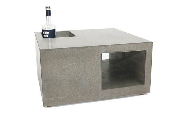 Betonm bel couchtisch concrete pinterest - Designer betonmoebel innen aussen ...