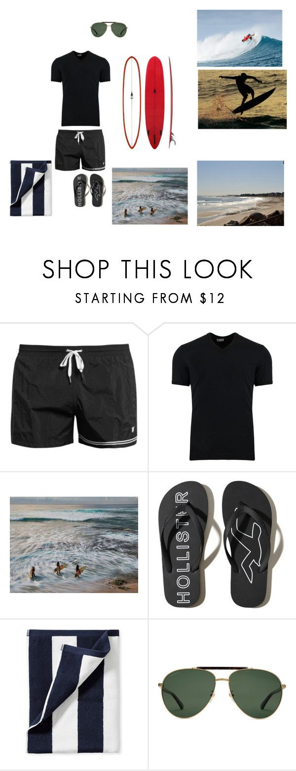 """Beach Outfit (Male)"" by fifthelement ❤ liked on Polyvore featuring Dan Ward, Dolce&Gabbana, National Geographic Home, Hollister Co., Serena & Lily, Gucci, men's fashion and menswear"