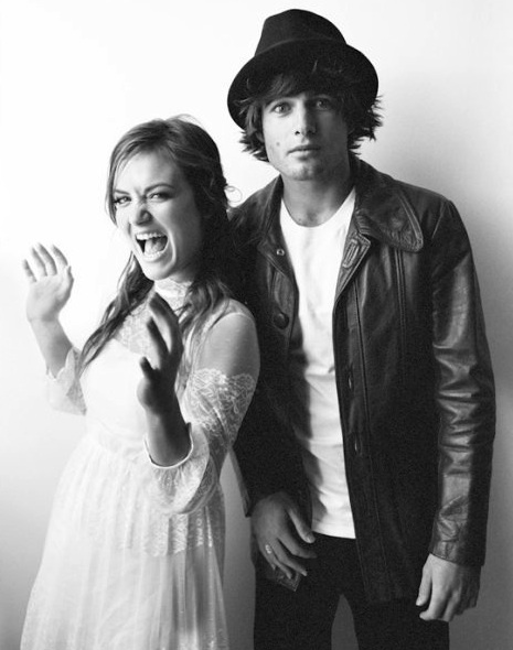 A younger looking Angus & Julia Stone (music)