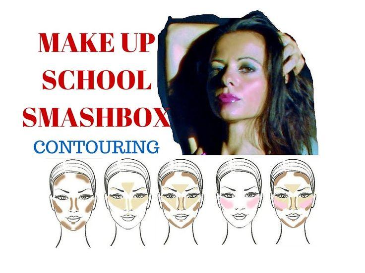 Make up school Smashbox Contouring lesson
