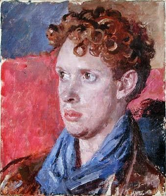 Dylan Marlais Thomas (by Augustus John) b. October 27, 1914, Swansea  d. November 9, 1953, Greenwich Village, New York