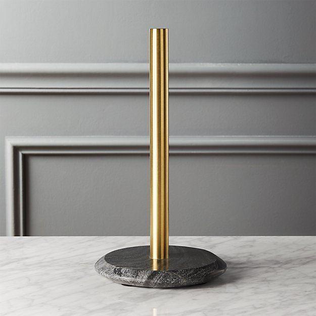 Brass Kitchen Paper Holder Google Haku With Images