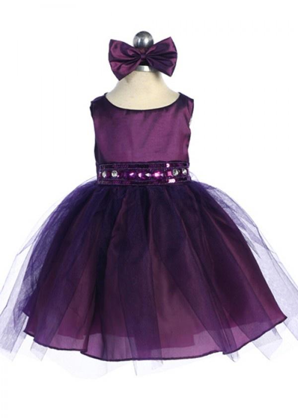 12 Best Images About Plum Girls On Pinterest | Taffeta Dress Sheer Chiffon And Girls Dresses