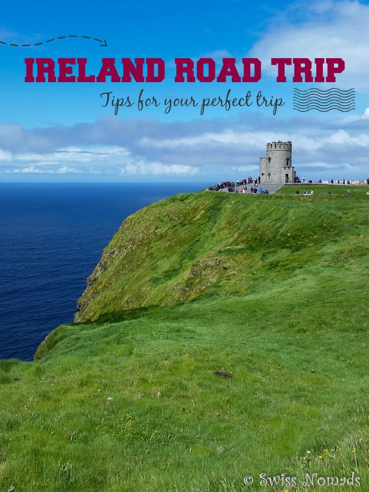 You need a break? How about doing an Ireland road trip? The friendly Irish people, the landscape and the relaxed atmosphere in traditional pubs make it easy to fall in love with Ireland.