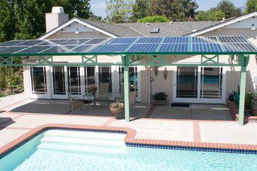 Phatport Solar Panel Patio Cover Brilliant Solar