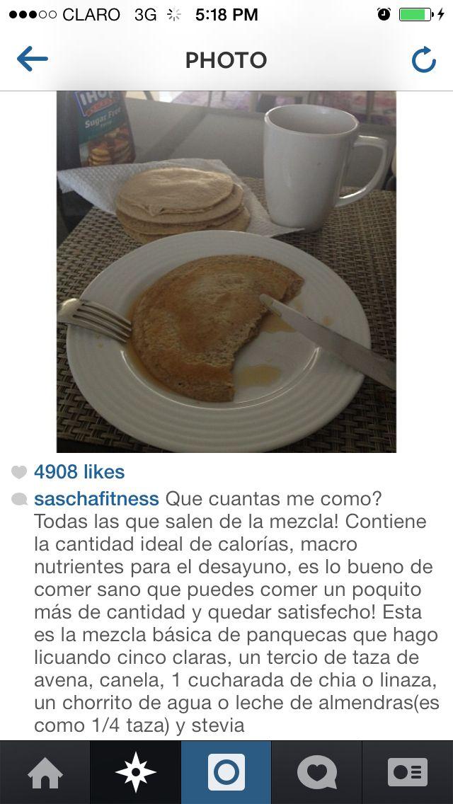 Sascha fitness pancakes