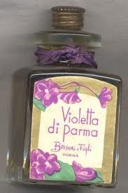 "Borsari ""Violetta di Parma"" vintage perfume bottle - A favorite childhood memory"