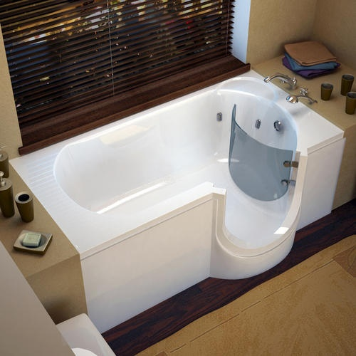 Sanctuary Walk In Bath Tub   If You Prefer A Standard Lay Down Tub But Want  The Safety That Sanctuary Walk In Tubs Offer, Then AmeriGlide Has The  Solution ...