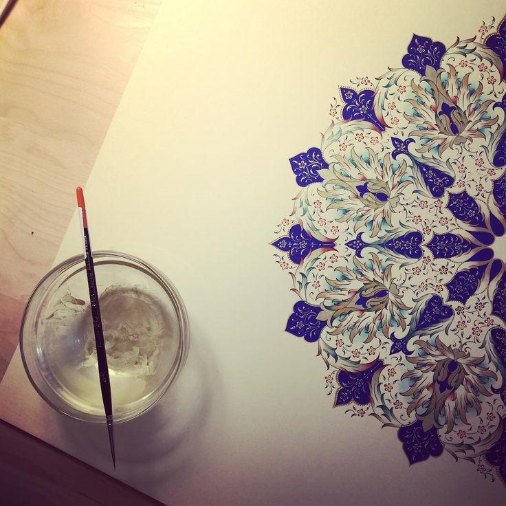 #tezhip #dilarayarcı #artwork #mywork #artFido