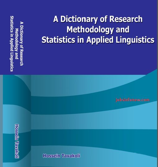 Dictionary of Research Methodology & Statistics Applied Linguistics PDF Download Click Here