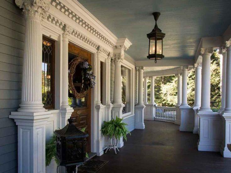 Gorgeous Victorian front porch