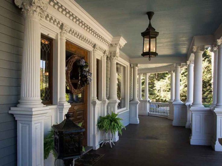 Gorgeous Victorian front porch