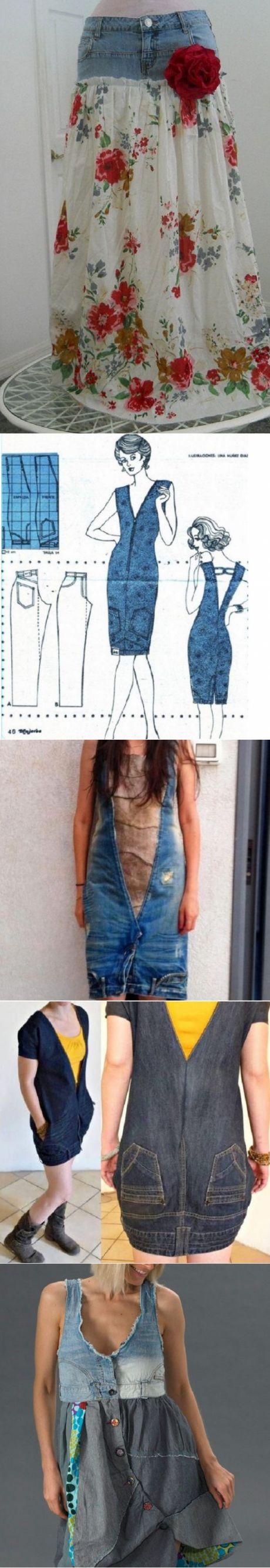 Специально отыскала старые джинсы-варенки, чтобы сделать эту вещь! За 15 минут справилась