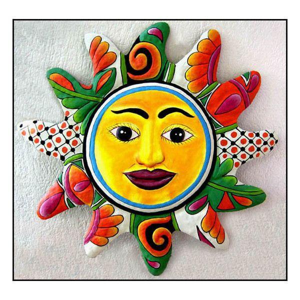 Outdoor Sun Wall Art 1186 best sun faces images on pinterest | sun art, sun and sun