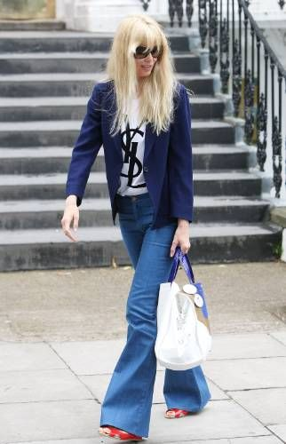 Claudia Schiffer in MiH Jeans. Shop this style: http://www.mih-jeans.com/womens-jeans/the-marrakesh-reed.html