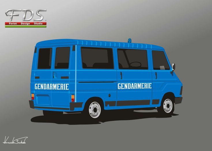 Citroën C 35 Gendarmerie