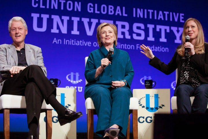 Punch to Hillary's Stomach: Charity watchdog says Clinton Foundation a 'slush fund' | John Hawkins' Right Wing News