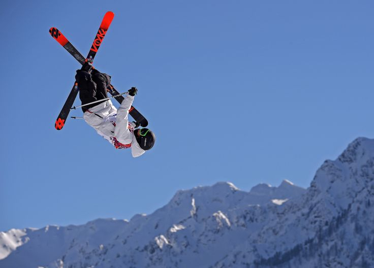 Freestyle skiing at the #sochi2014 #olympics