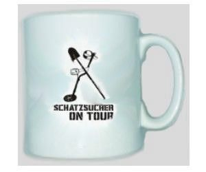 Tasse Schatzsucher on Tour 2 - Sondeln, Sondengänger, Sondler / mehr Infos auf: www.Guntia-Militaria-Shop.de