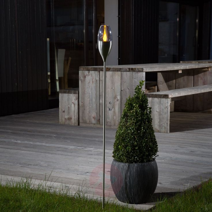 For A Wonderful Atmosphere Around The House And Garden: The Jari LED Garden  Light.