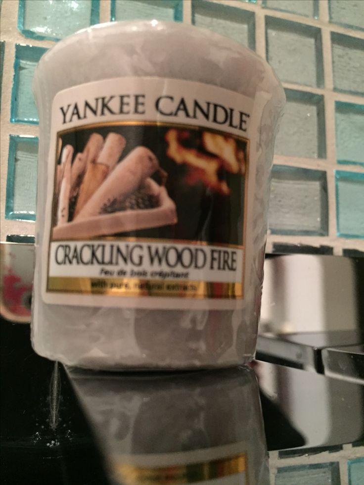 Yankee Candle Crackling Wood Fire - Sampler