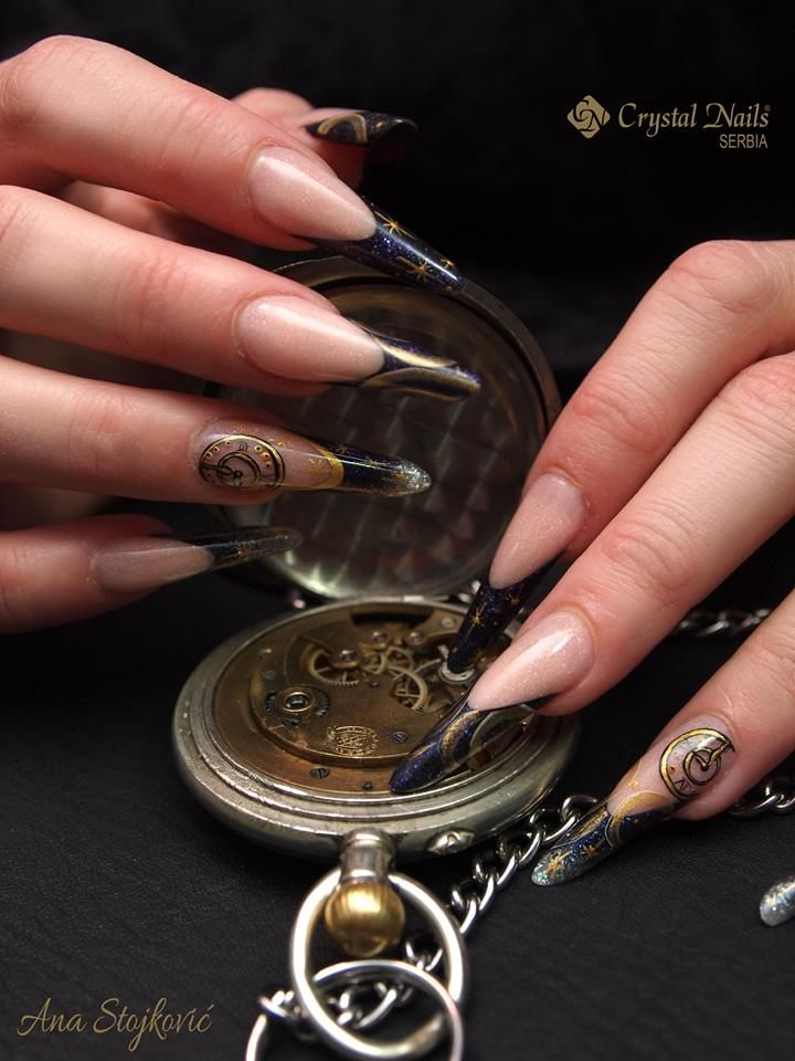 11 best Galaxy Nails - Hypernova decoration gel images on Pinterest ...