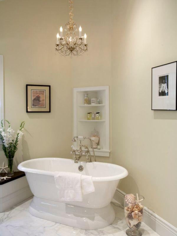 Corner Shelving in Bathrooms