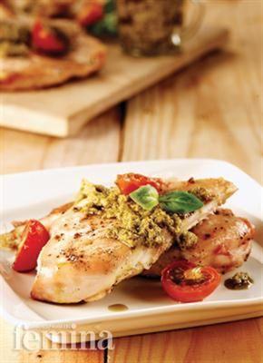 Femina.co.id: Ayam Panggang Tomat #resep #menudiet