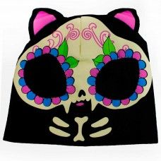 Slouchy Knit Beanie - Kitty. www.nixdungeon.co.nz