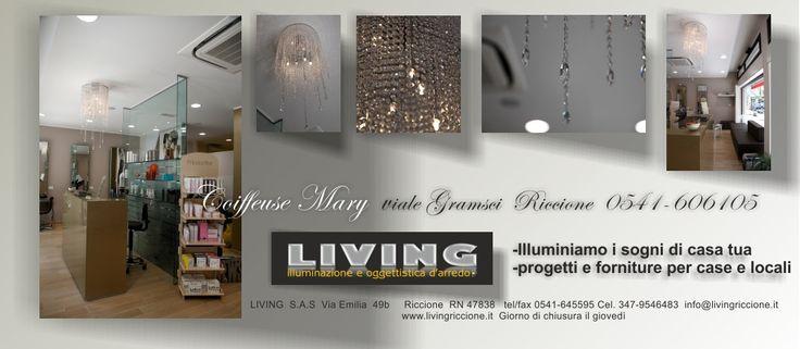 presentazione di fornitura lampada per negozio a Riccione