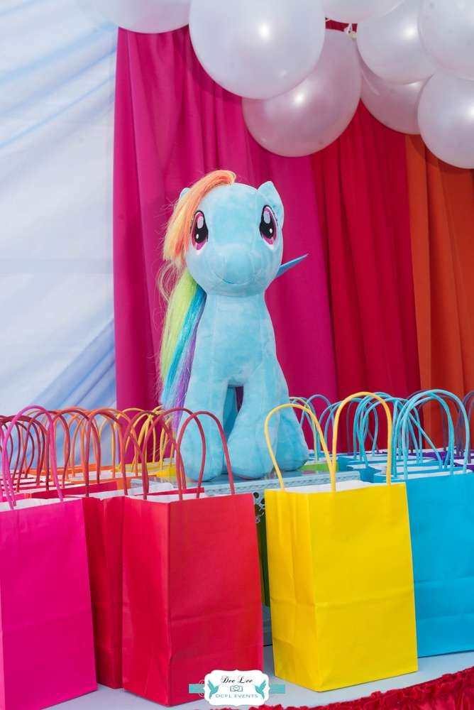 Rainbow Dash My Little Pony Birthday Party Ideas