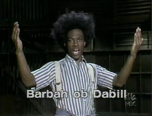 SNL introduced us to Eddie Murphy in the early 80's.