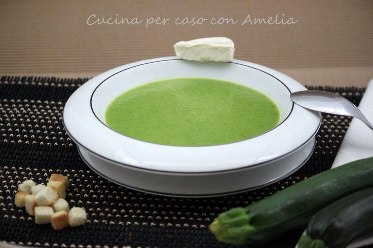 Crema di zucchine, ricetta