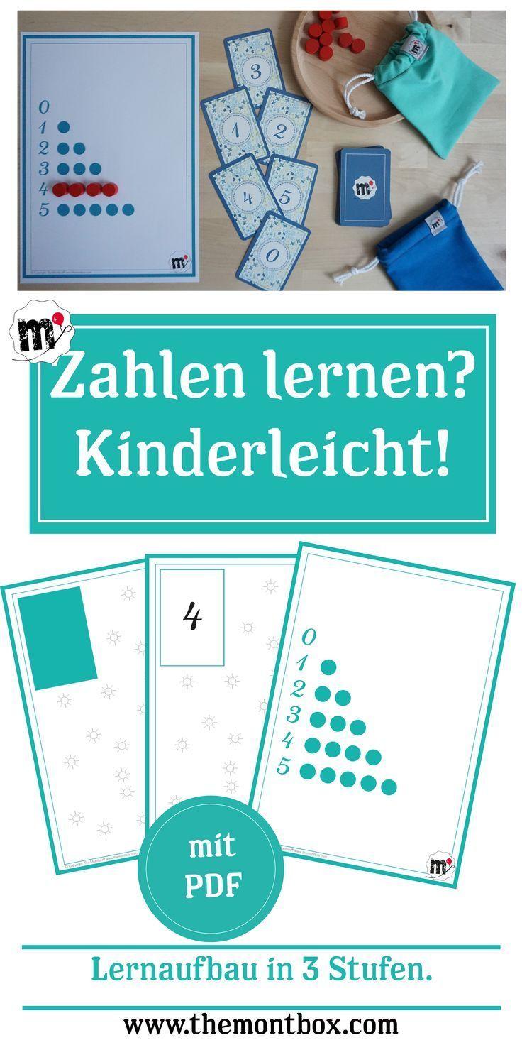 Kinderleicht die Zahlen lernen   Kinder   Pinterest   Zahlen lernen ...