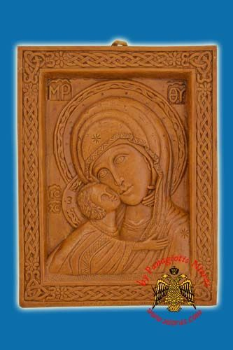 Icon from BeeWax Panagia Frame
