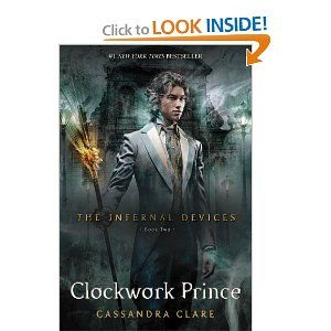 Clockwork Prince (The Infernal Devices, Book 2): I liked book 1 and I was pretty sure that I was going to like Infernal Devices better than Mortal Instruments. After book 2, I'm sure of it! I am LOVING The Infernal Devices. Jem and Will and Tessa-what a triangle! I have got to get my hands on #3!!!
