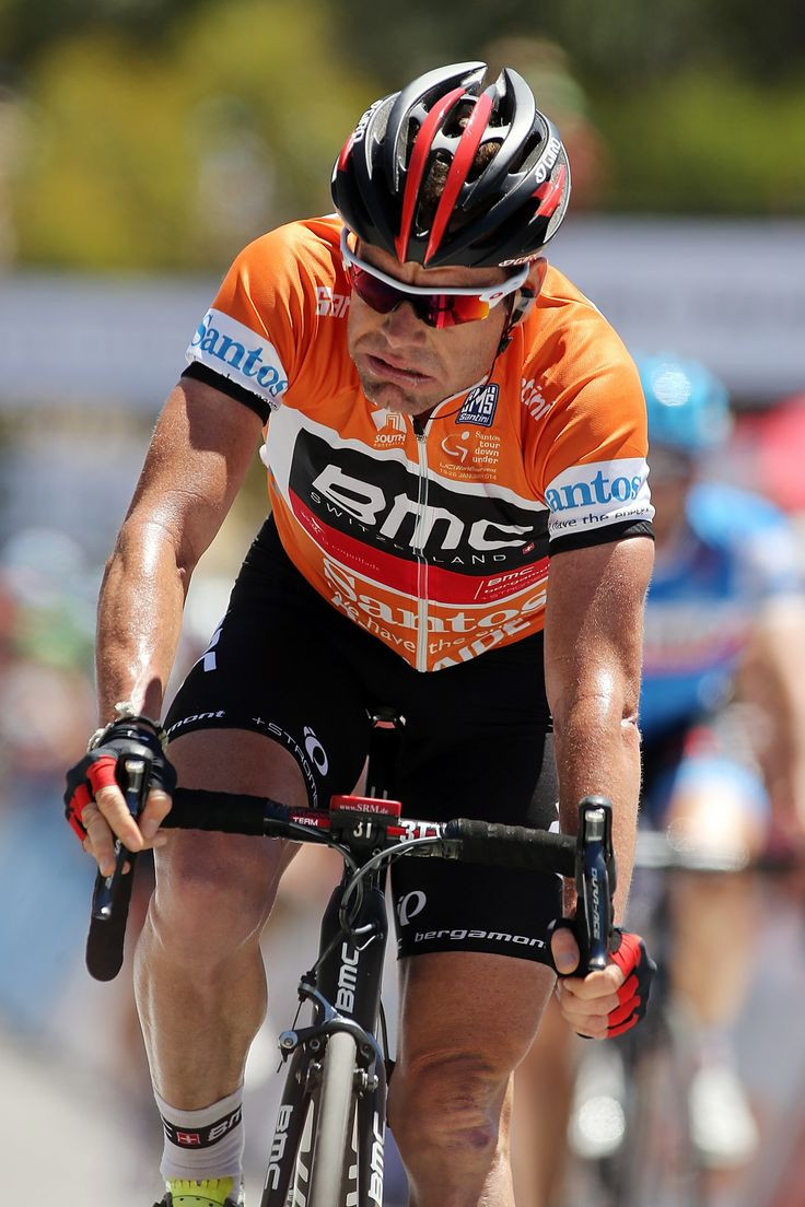 2014 Tour Down Under - Stage 5 Getty Images Yahoo! Sports - ADELAIDE, AUSTRALIA - JANUARY 25: Australian cyclist Cadel Evans of the BMC Racing Team reacts after Stage Five of the Tour Down Under on January 25, 2014 in Adelaide, Australia. (Photo by Morne de Klerk/Getty Images)