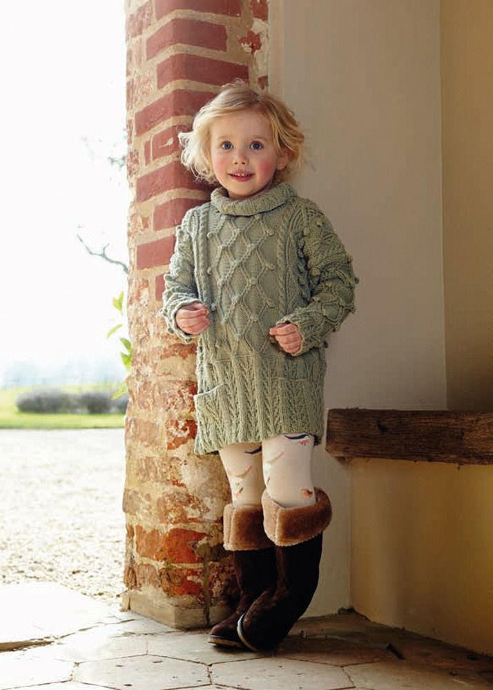 Knitting Pattern For Childs Aran Dress : 1000+ images about Knits on Pinterest Free pattern ...