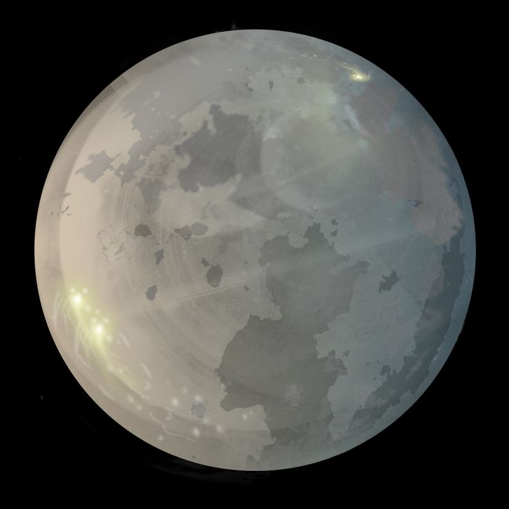 It is a photo of Influential Drawing Of Moon