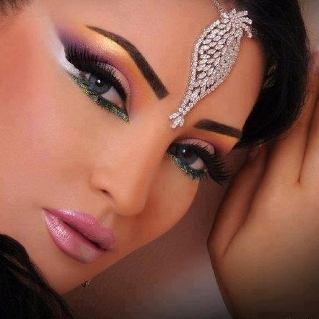 airbrush makeup indian bridal