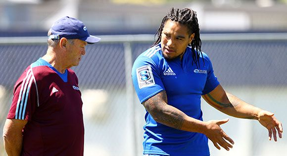 Nonu motivated to perform for the Blues