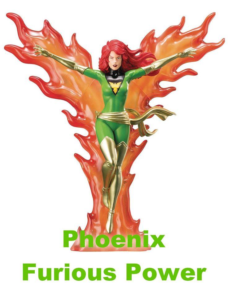 Phoenix Furious Power Statue X Men Dark Phoenix Statue