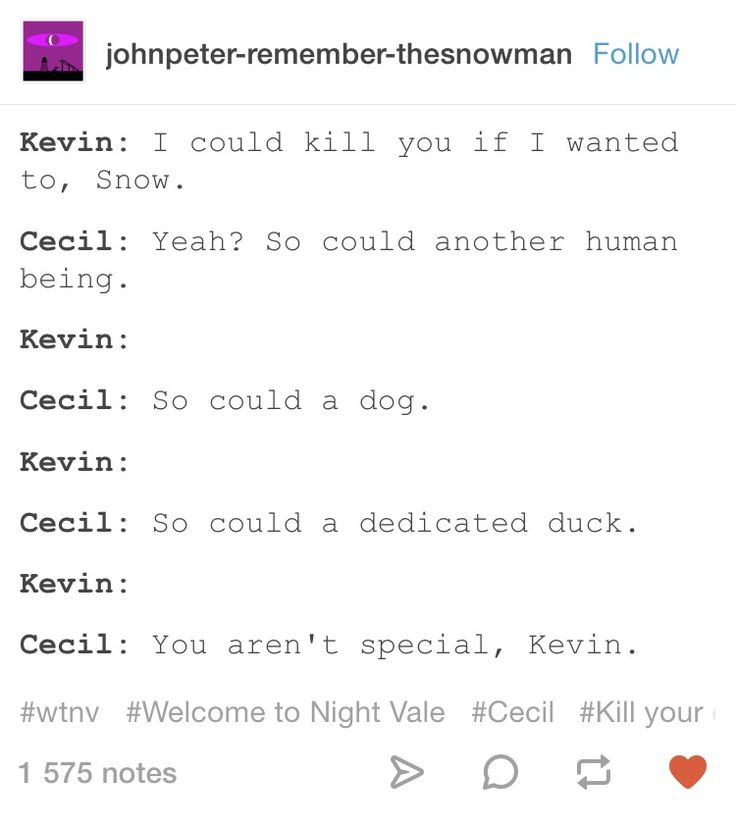Welcome to Night Vale incorrect quotes Kevin and Cecil