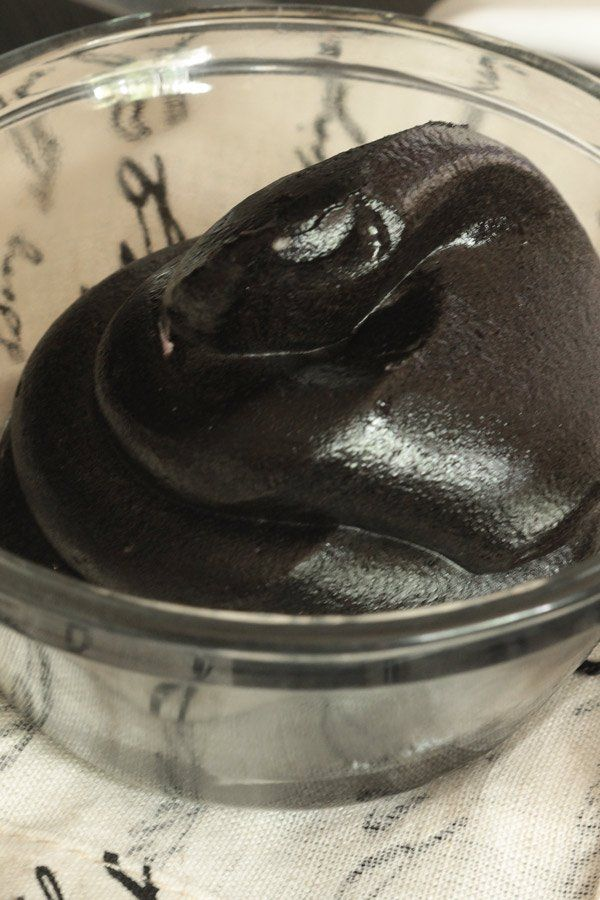 Blackout Chocolate Buttercream Frosting. The deepest, darkest, chocolate buttercream frosting ever!