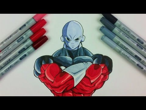 How to Draw JIREN THE GRAY - Universe 11 Strongest Warrior   Tutorial by TolgArt - YouTube