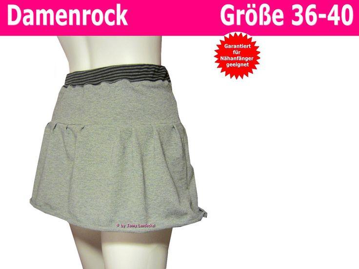 Röcke & Hosen - Damen-Rock *Summertime* nähen, Schnittmuster  - ein Designerstück von Trash-Monstarz-Naehshop bei DaWanda