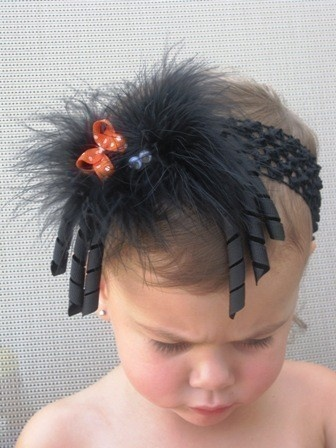 Cute Halloween Hair Bow- very cute for halloween