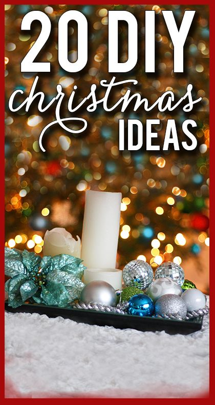 I love these creative, budget-friendly Christmas ideas! So much great inspiration!