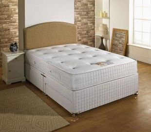 Dura Bed Pocket Plus Memory 4ft Small Double Divan Bed 1000 Pocket Springs and Memory Foam by Durabed